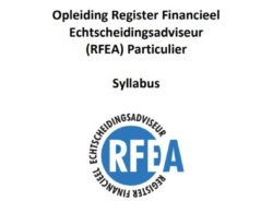 digitale Syllabus Register Financieel Echtscheidingsadviseur (RFEA) Particulier